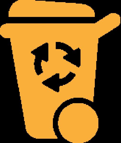 Lixeiras de reciclagem
